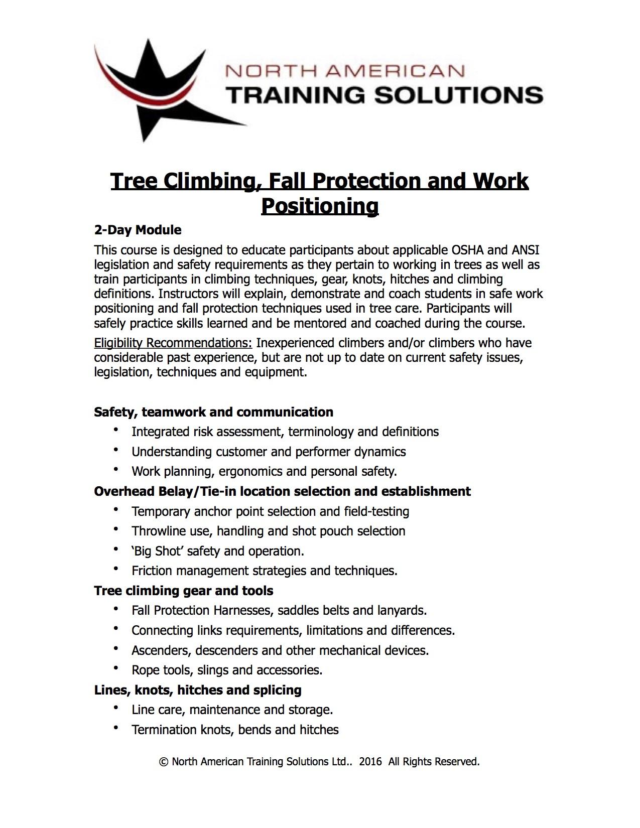 Buckingham Course Information jpeg
