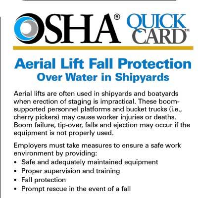 OSHA Quick Cards