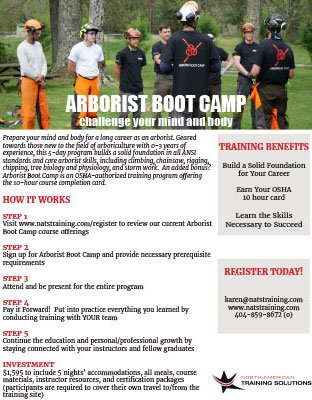 Arborist Boot Camp
