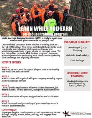 Learn While You Earn