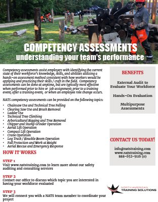 Competency Assessments