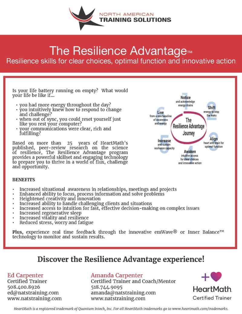 Resilience Advantage