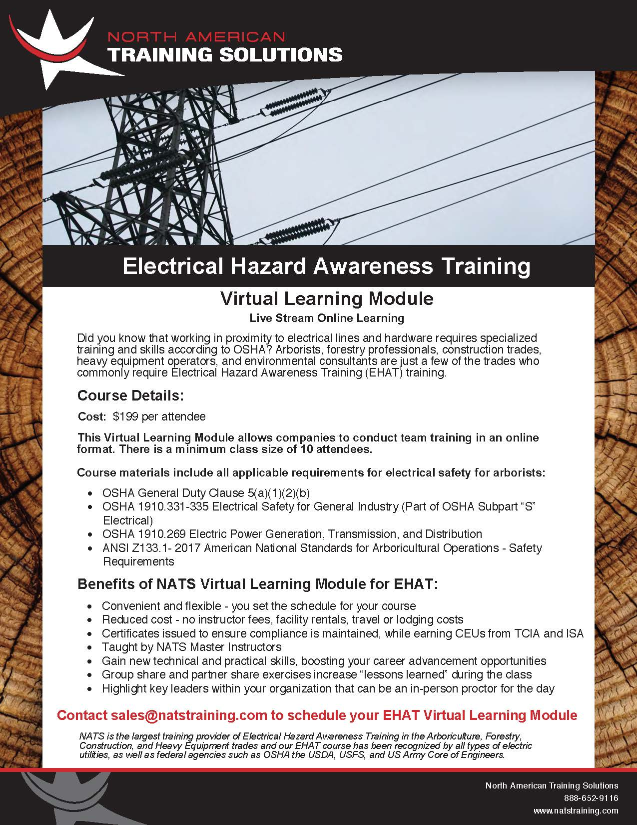 EHAT Virtual Learning